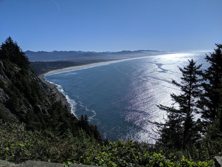 Beautiful Oregon Coast - Art by Seren