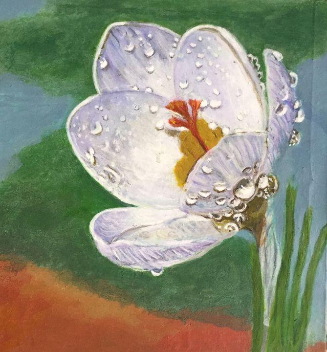 the sky tears - Paintings by Hajira