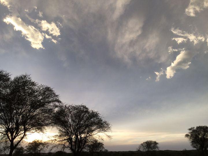 Clouds - Paintings by Hajira