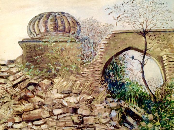 Tilla Jogian - Paintings by Hajira