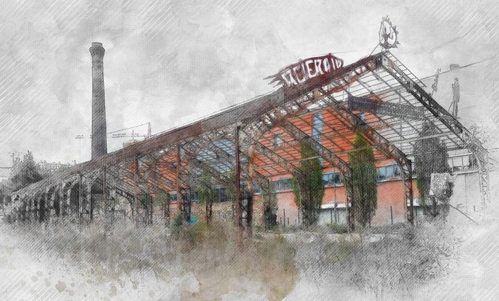 Montreuil Old Factory - Les carnets de l'architecte