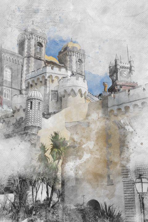 Strange castle in Portugal - Les carnets de l'architecte