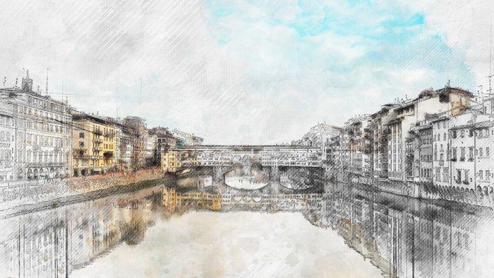 Ponte Vecchio, Firenze - Les carnets de l'architecte