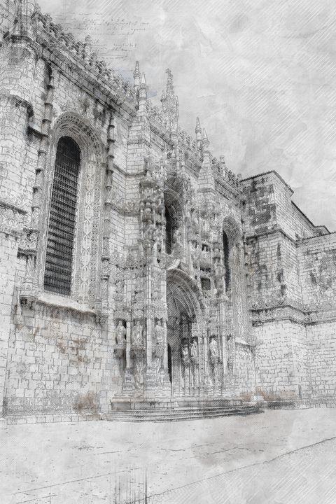 Lisbon Old Church - Les carnets de l'architecte
