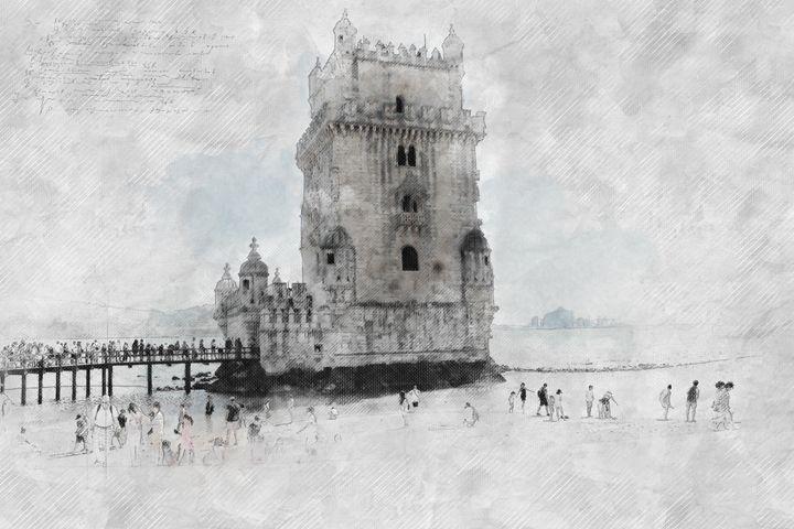 On the Lisbon sea - Les carnets de l'architecte