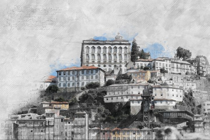 View of Porto 2 - Les carnets de l'architecte