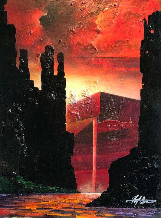 ''Red Rock'' - Michael Goldzweig