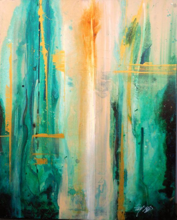 ''Morning Garden'' - Michael Goldzweig
