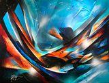 30''x40'', origina acrylic on canvas