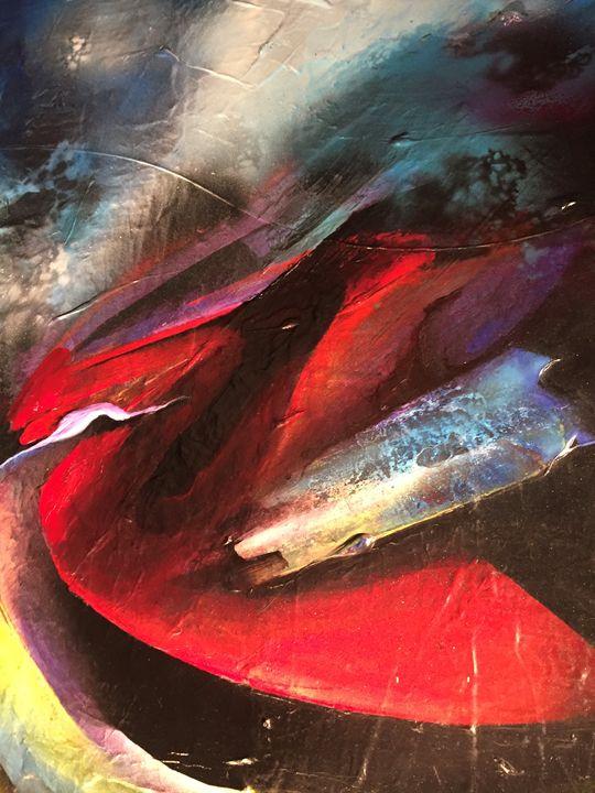 Detail of, ''Ethereal'' - Michael Goldzweig