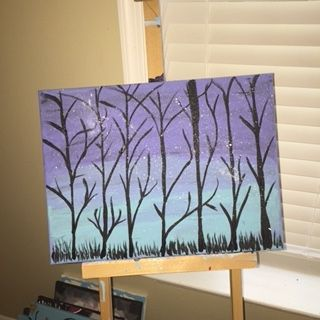 The Trees - Paintings by Steph