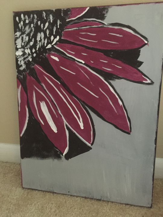 Flower - Paintings by Steph