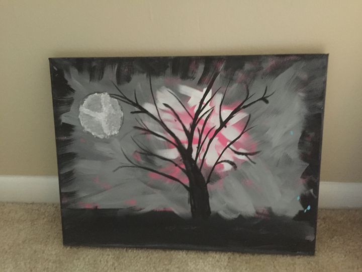 Haunted tree - Paintings by Steph