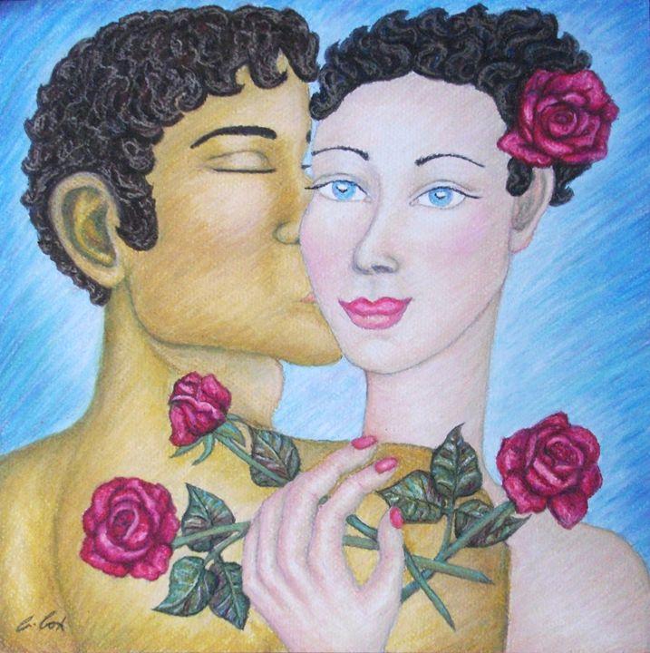 English Rose - Claudia Cox Art