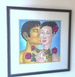 Original Oil Pastel Painting