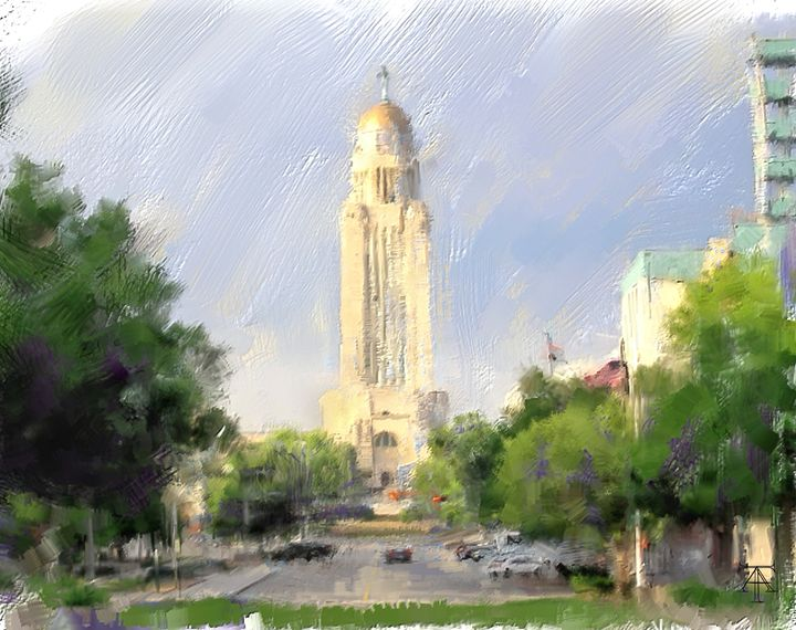 July morning in Lincoln - Art.Suhoff