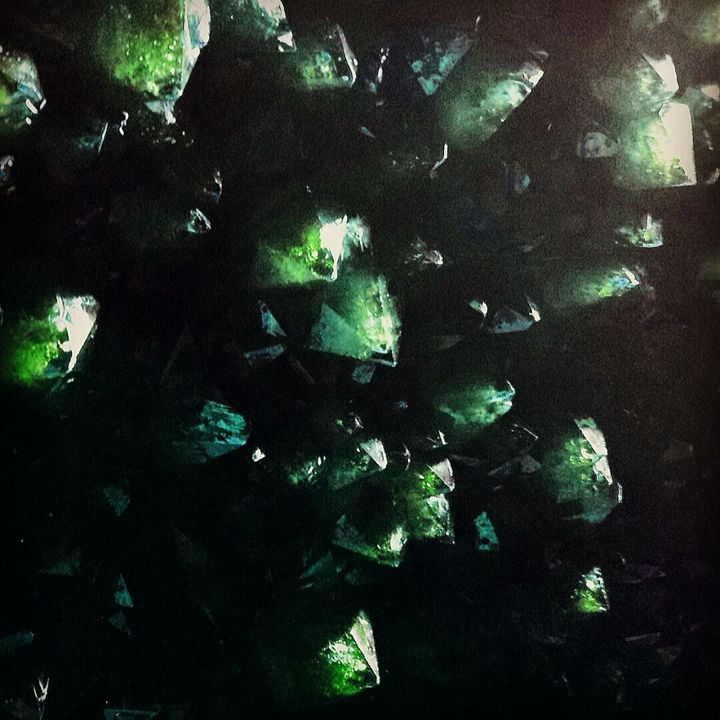Swirling Emeralds - LubetskyArt