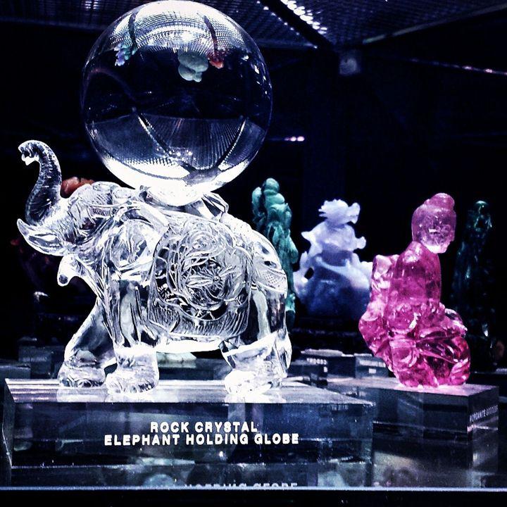 Crystal Elephant - LubetskyArt