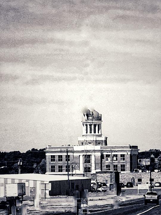 Sayre Oklahoma Downtown - Tammera Carter Art Gallery