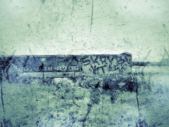 Grunge Graffiti - Tammera Carter Art Gallery