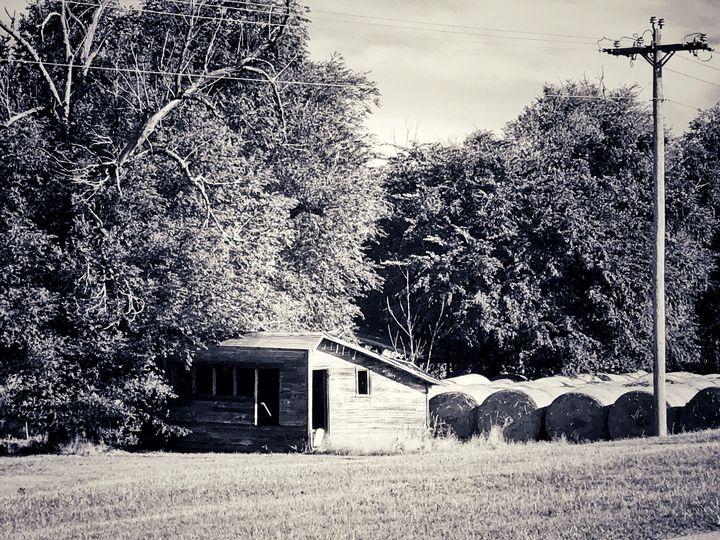 Oklahoma haystacks - Tammera Carter Art Gallery