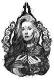 Queen of the dark art Drawing