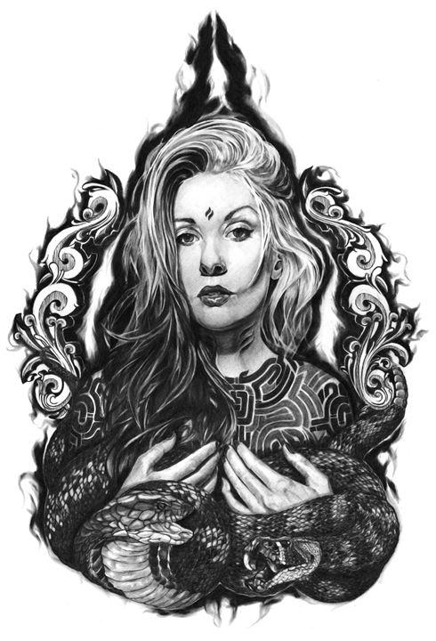 Queen Of The Dark Art - Volre Rahman Artspace