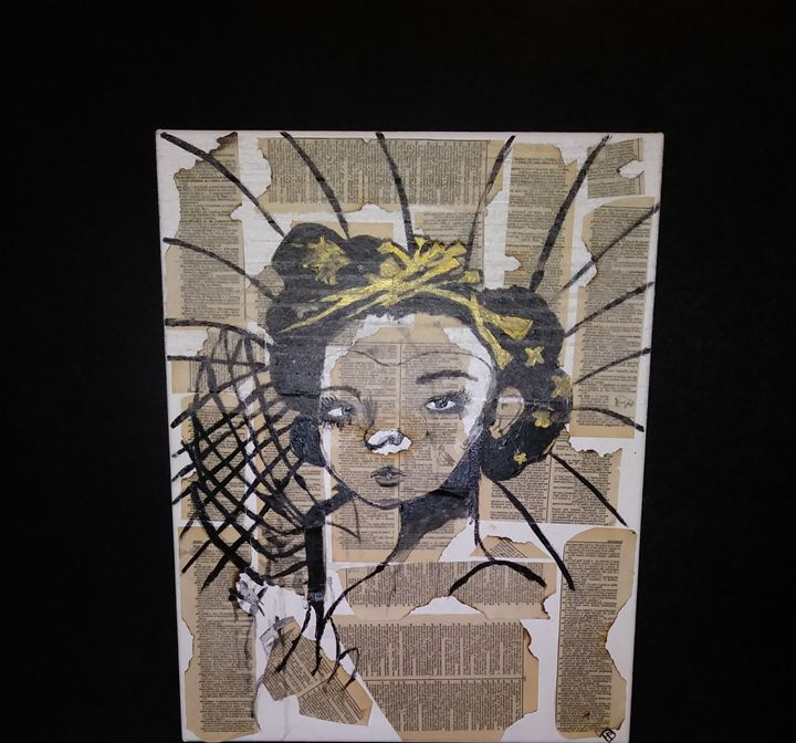 Geisha - Spoonie Lenné Artworks