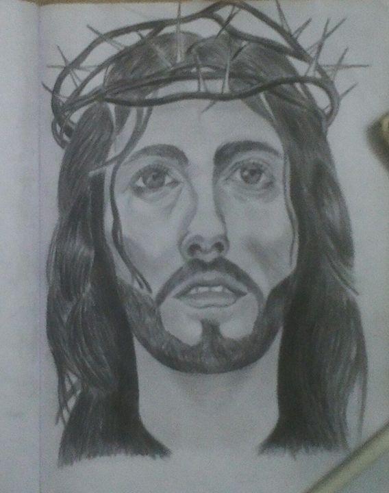 Jesus - Ravins Arts