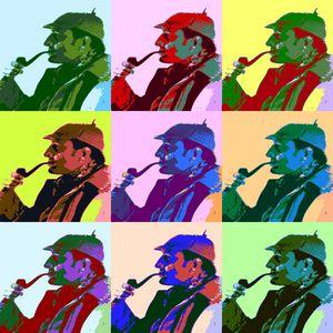 Sherlock Holmes Pop Art