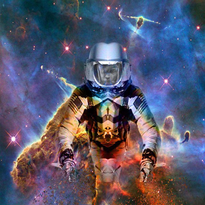 Astronaut Disintegration - ICARUSISMART