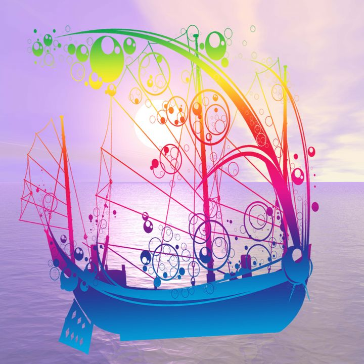 Sailing Ship at Dawn - ICARUSISMART