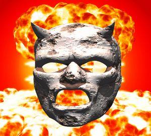 Atomic Mask of Stone