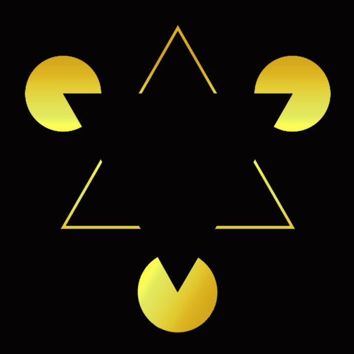 Golden Star illusion - ICARUSISMART