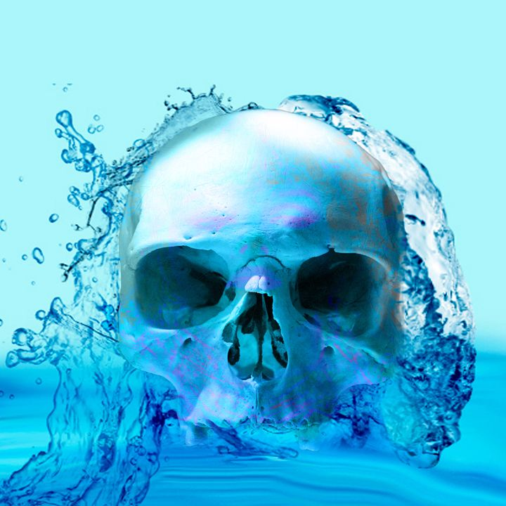 Skull in Water - ICARUSISMART