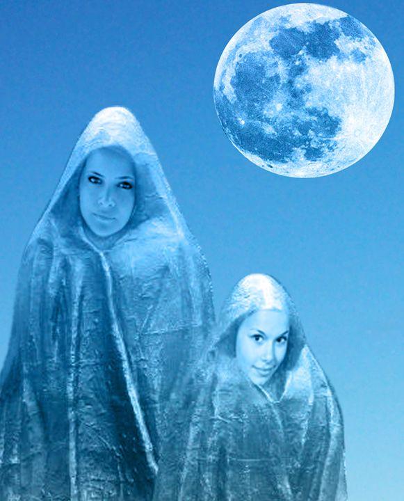 Full Moon Rising - ICARUSISMART