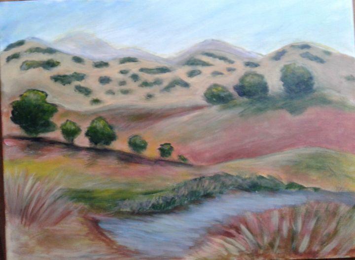 California landscape - Lori's paintings