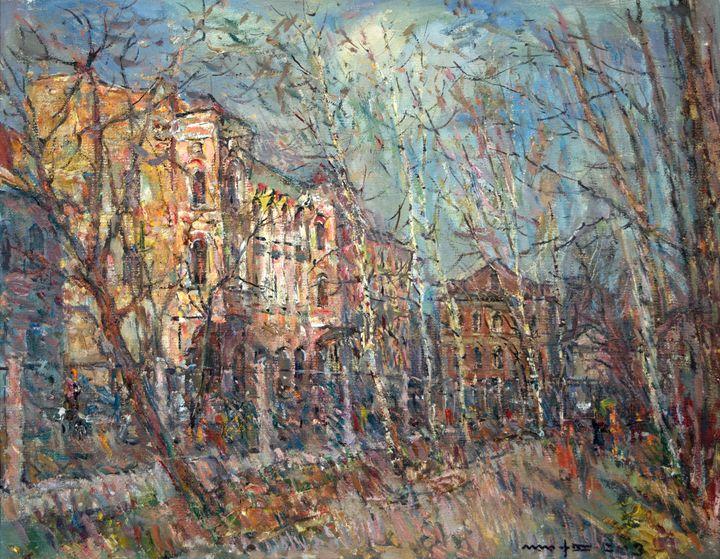 Spring in Rybinsk - Nikolay Malafeev