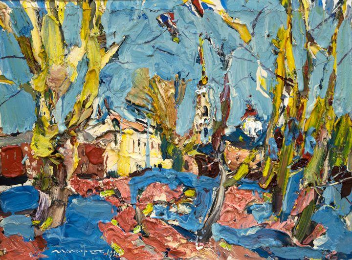 Golden Poplars - Nikolay Malafeev