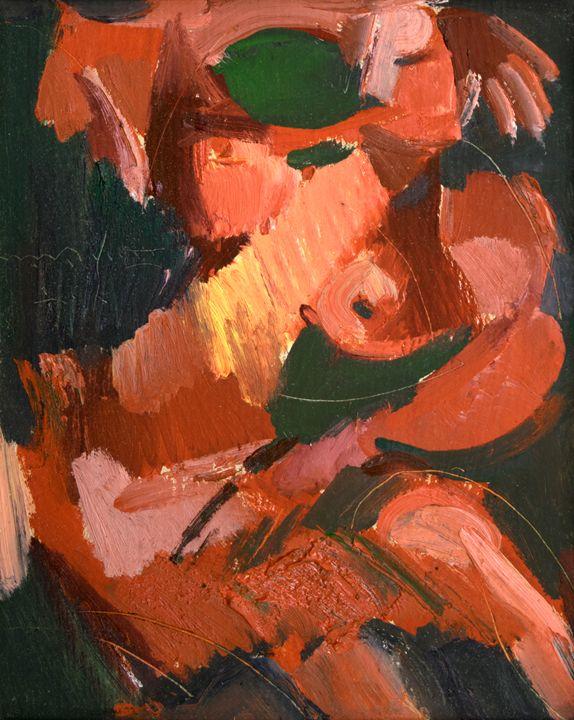 With Her Hand Raised - Nikolay Malafeev