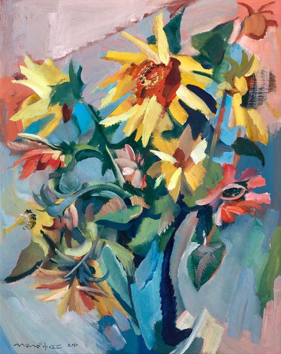 Sunflowers - Nikolay Malafeev