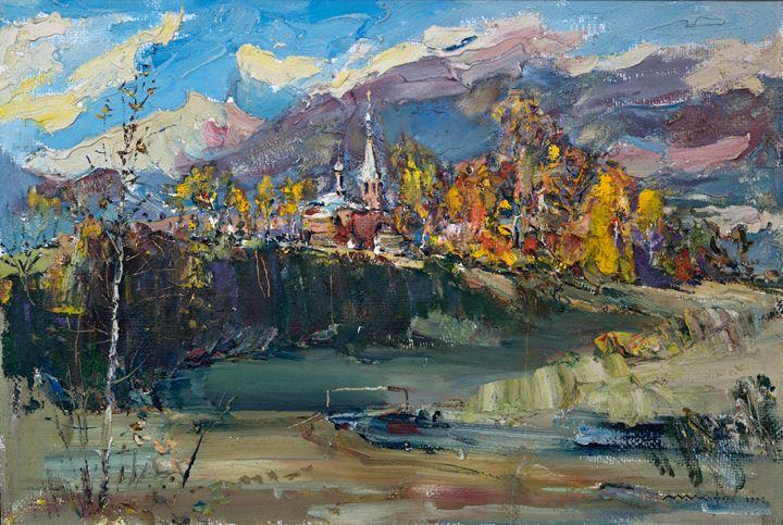 Alexander Nevsky Church - Nikolay Malafeev