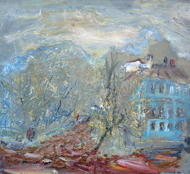 Autumn Landscape - Nikolay Malafeev