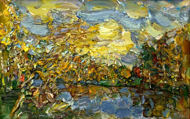 Autumn Evening - Nikolay Malafeev