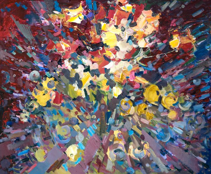 Flowers and Apples - Nikolay Malafeev