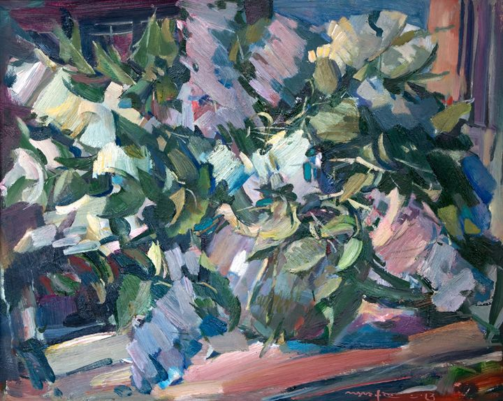 Lilac On The Window - Nikolay Malafeev