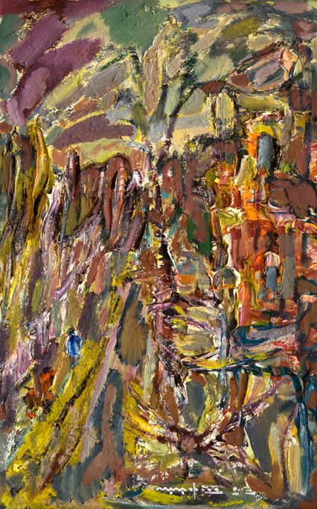 Landscape Outside the Window - Nikolay Malafeev