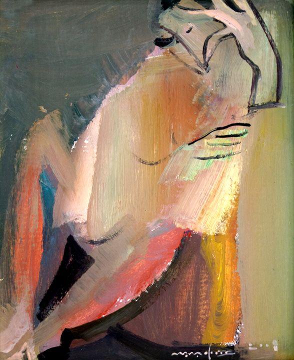 Sitting - Nikolay Malafeev