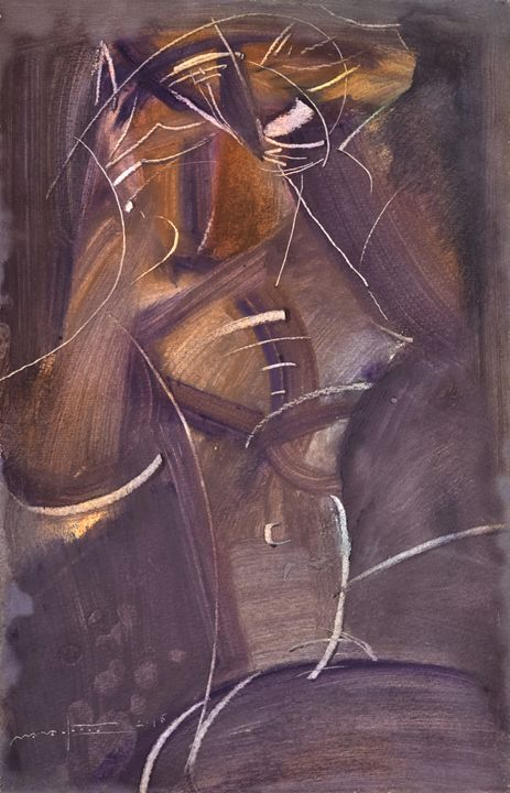 The Figure At Night - Nikolay Malafeev