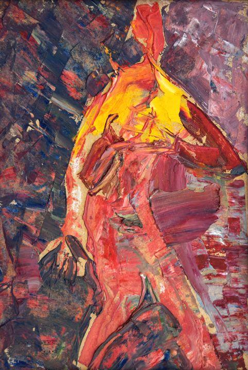 Running Figure - Nikolay Malafeev